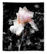 Iris Emergance Fleece Blanket