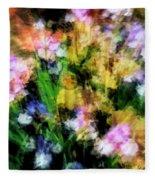 Iris Fantasy Fleece Blanket