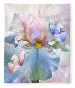 Iris - Goddess Of Serenity Fleece Blanket