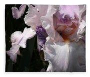 Iris Lace Fleece Blanket