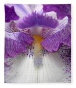 Iris Lashes Fleece Blanket