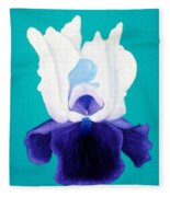 Iris Passion Fleece Blanket
