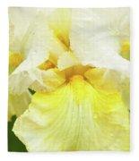 Iris Pride Of Ireland Fleece Blanket