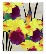 Iris Shadow Fleece Blanket