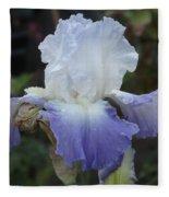 Iris Singing The Blue Fleece Blanket