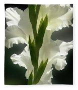 Gladiolus Spectacular #2 Fleece Blanket
