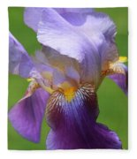 Iris Spirit Fleece Blanket