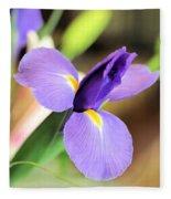 Iris Unfolding IIi Fleece Blanket