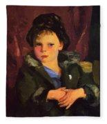 Irish Boy 1898 Fleece Blanket