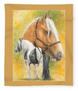 Irish Cob Fleece Blanket