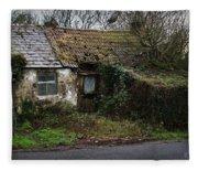 Irish Hovel Fleece Blanket
