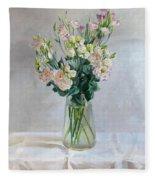 Irish Rose Fleece Blanket