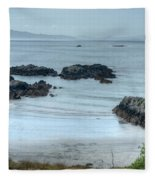 Irish Tidal Pool Fleece Blanket