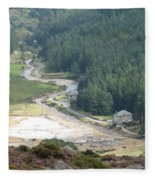 Irish Valley Fleece Blanket