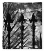 Iron Fence Fleece Blanket