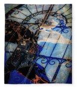 Iron Gate Abstract Fleece Blanket