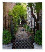 Iron Gate Alley Fleece Blanket