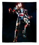 Iron Man 3 Fleece Blanket