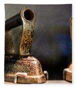 Irons From Early 1900s Australia Fleece Blanket