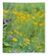 Ironweed Fleece Blanket