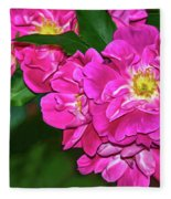 Irresistible Rose - Paint Fleece Blanket