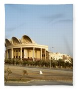Isa Cultural Center - Manama Bahrain Fleece Blanket