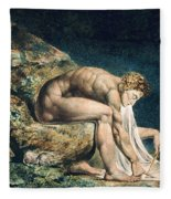 Isaac Newton Fleece Blanket