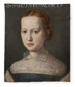 Isabella De Medici  Fleece Blanket