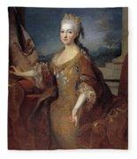 Isabella Louise Of Orleans. Queen Of Spain Fleece Blanket