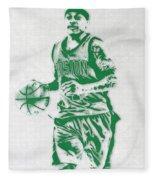 Isaiah Thomas Boston Celtics Pixel Art Fleece Blanket