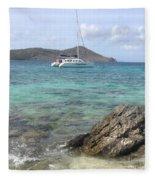 Island Dreaming Fleece Blanket
