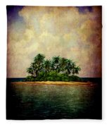 Island Of Dreams Fleece Blanket