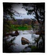 Island Of Immortals Fleece Blanket