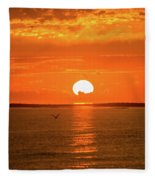 Island Of The Sun Fleece Blanket