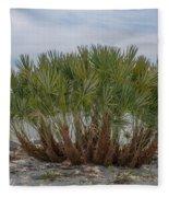 Island Palms Fleece Blanket