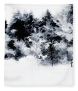Island Park Idaho - Beyond The Gate Fleece Blanket