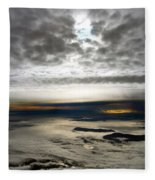 Islands In The Clouds Fleece Blanket