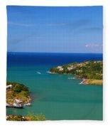 Islands In The Stream Fleece Blanket