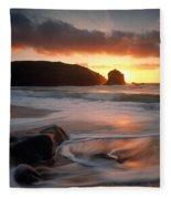 Isle Of Lewis Outer Hebrides Scotland Fleece Blanket