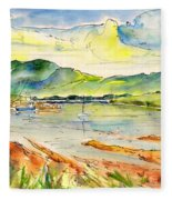 Isle Of Skye 01 Fleece Blanket