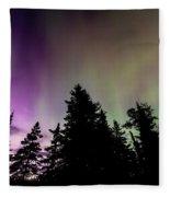 Isle Royale Aurora  Fleece Blanket