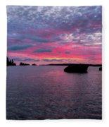 Isle Royale Belle Isle Dawn Fleece Blanket