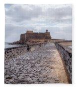 Islote De Los Ingleses - Lanzarote Fleece Blanket