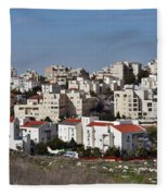 Israel Modiin  Fleece Blanket