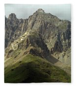 Italian Alps Fleece Blanket
