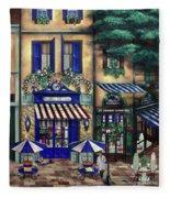 Italian Cafe Fleece Blanket
