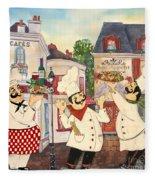 Italian Chefs-jp3042 Fleece Blanket