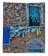 Italian Clothes Dryer Fleece Blanket
