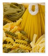 Italian Pasta Fleece Blanket