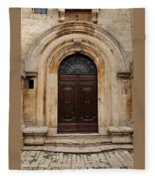 Italy - Door Eighteen Fleece Blanket